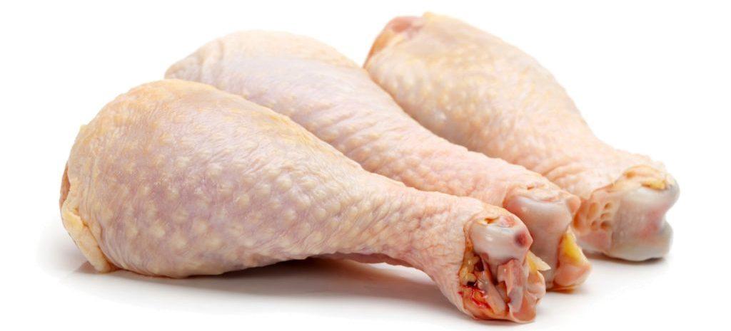 Мясо курицы на кости