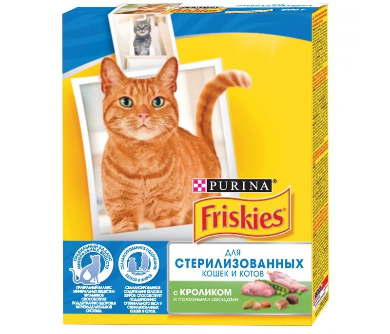 Для стерилизованных кошек